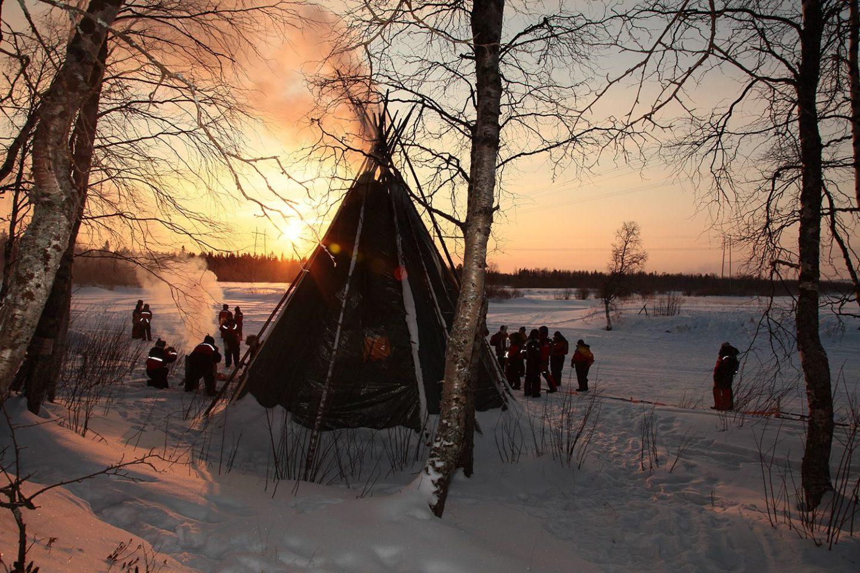 Le sauna et la Kota | Deux institutions incontournables en Laponie