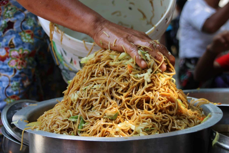 Cuisine Birmane | 3 recettes préparées avec des locaux