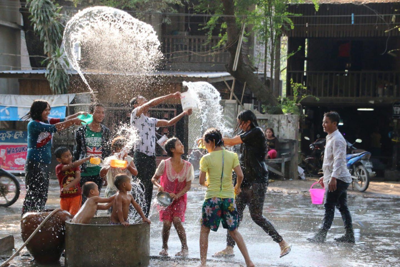 5 conseils pour fêter le festival de l'eau en Birmanie