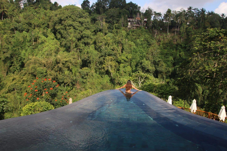 Hanging gardens: un palace au milieu de la jungle à Ubud