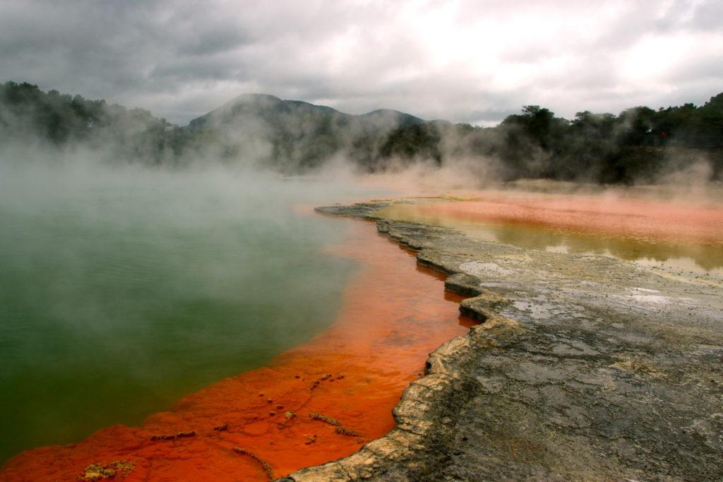 Nouvelle Zélande: Itinéraire sur l'île du Nord