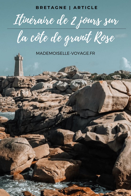Bretagne |Cote de granit rose |Ploumanac'h | Perros-guirec | tregastel | conseils |mademoiselle-voyage|lannion | Blog voyage
