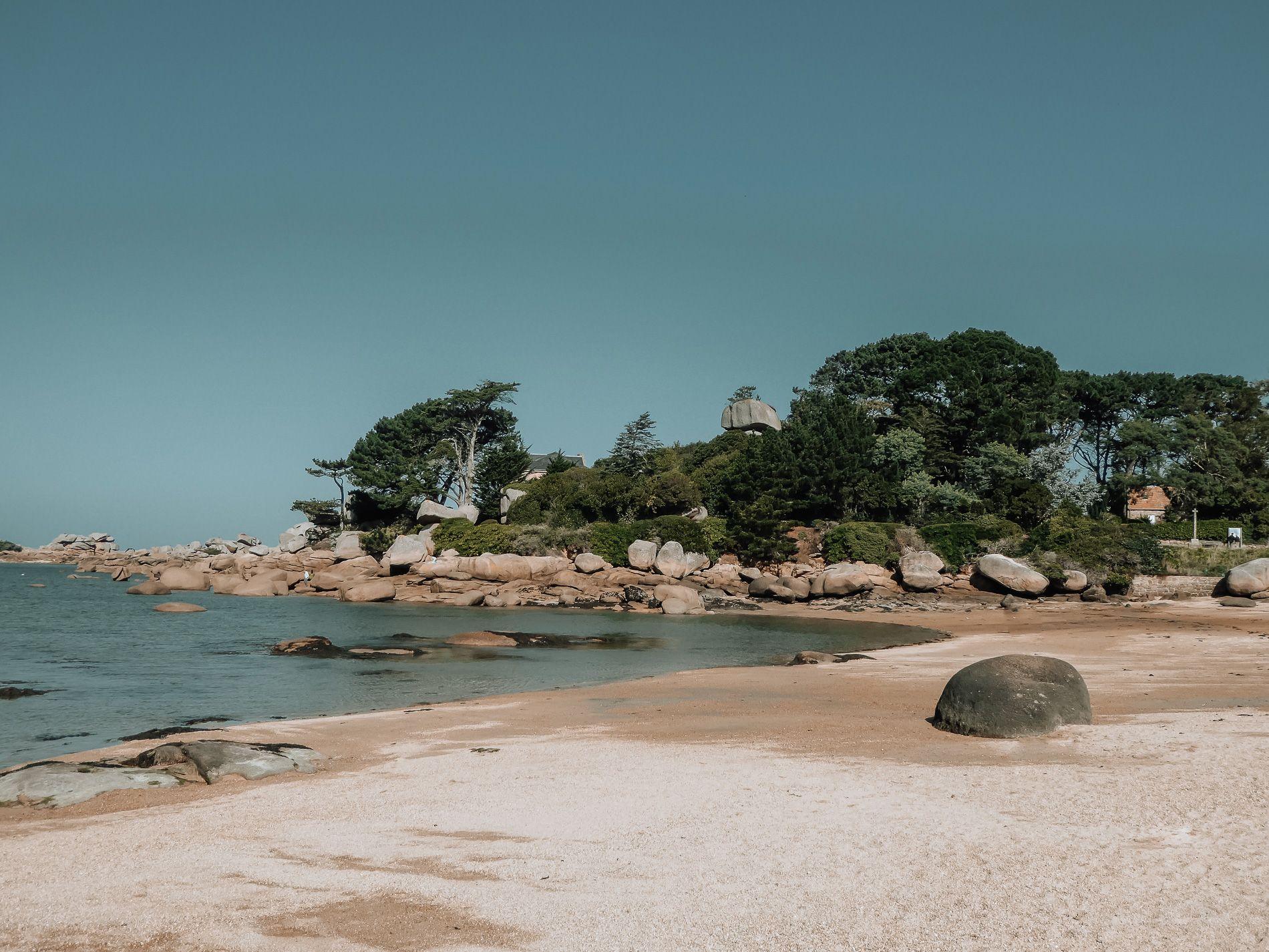 Bretagne - cote de granit rose - conseils - mademoiselle - voyage - blog - tregastel