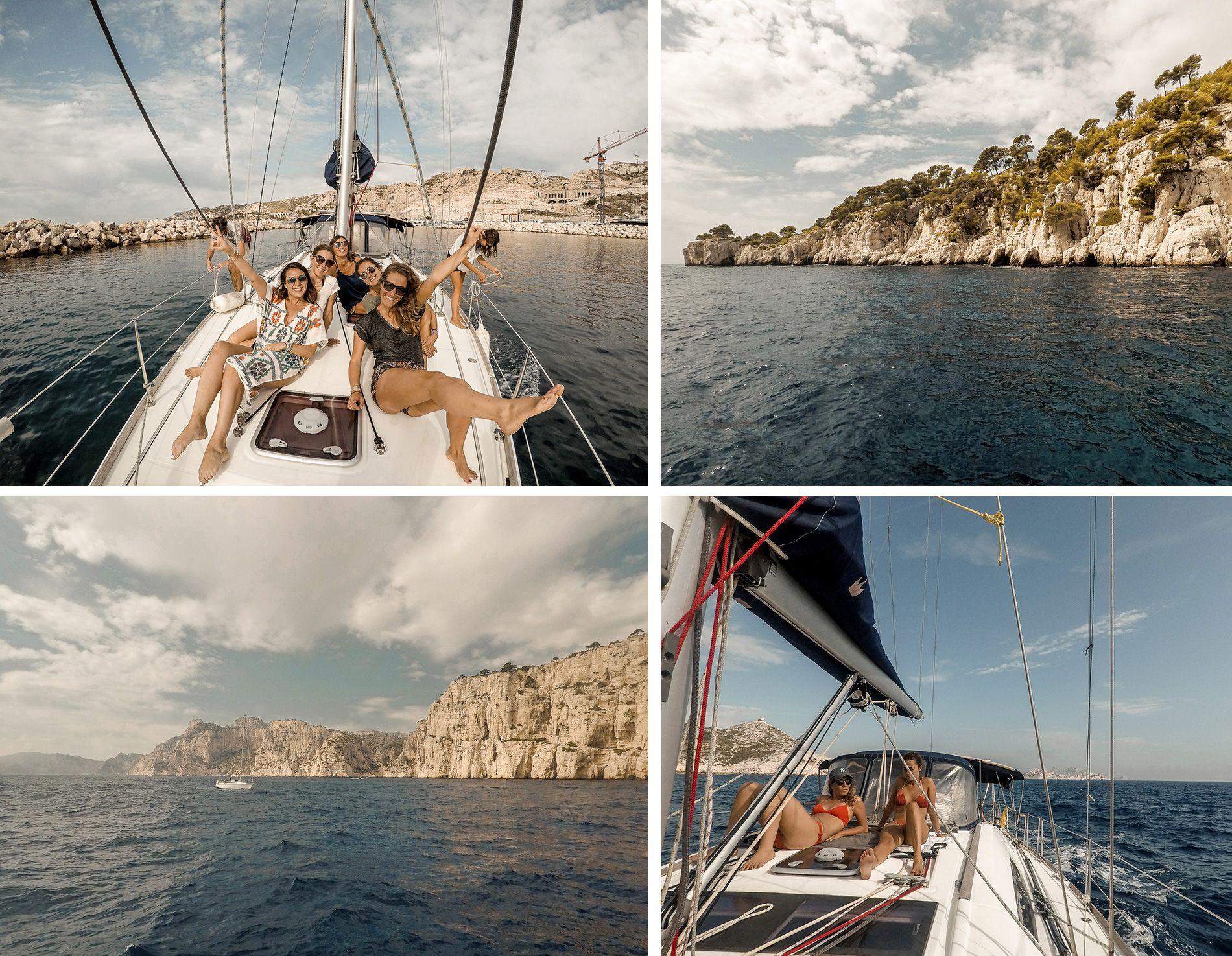 Marseille   conseils   week-end   Hébergement   calanques   croisière   voilier