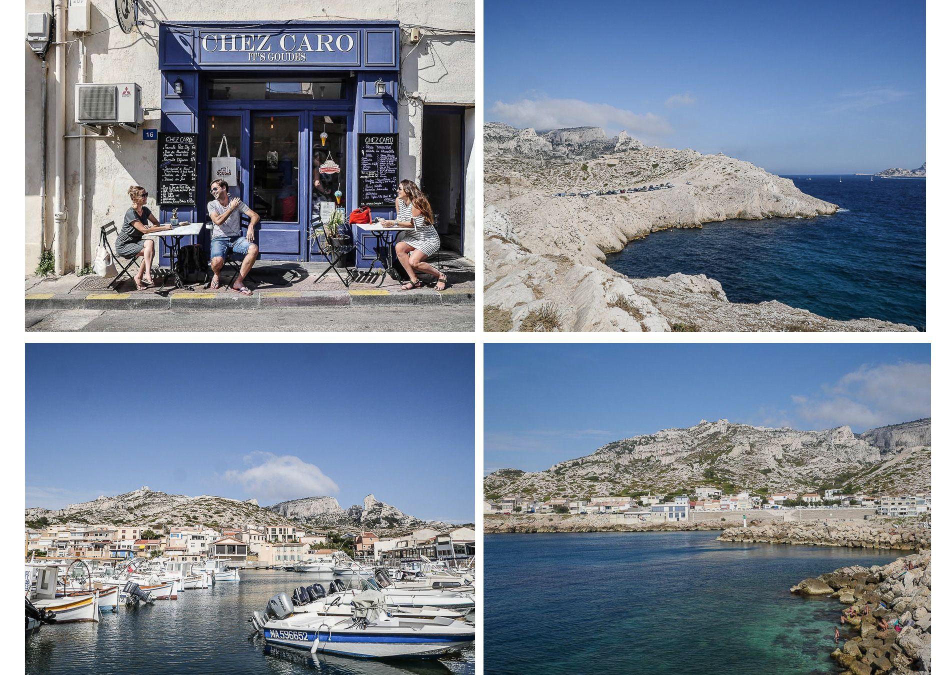 Marseille | conseils | week-end | Hébergement | calanques | Les goudes