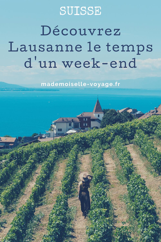 Suisse | Lausanne | conseils | voyage | mademoiselle-voyage