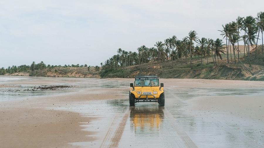 Brésil : parcourez en buggy la région sauvage du Nordeste