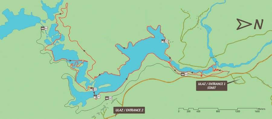 Croatie | plitvice | parc national | conseils | voyage | mademoiselle-voyage | itinéraire | carte