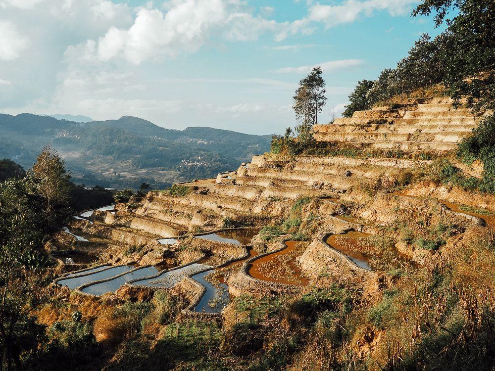 Les rizières en terrasse de Yuanyang et les minorités ethniques du Yunnan