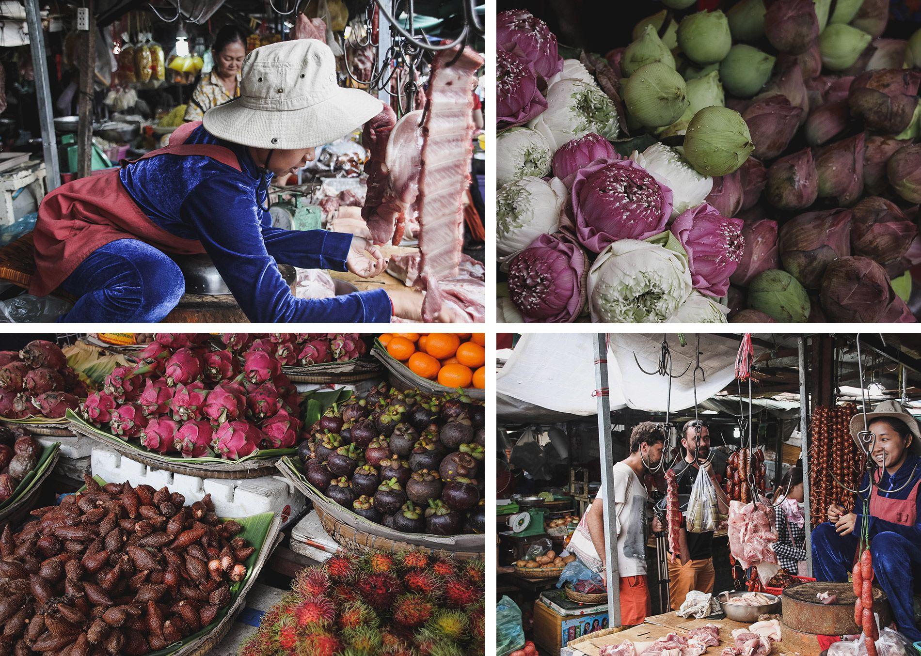 Cambodge | phnom penh | marché | conseil | voyage