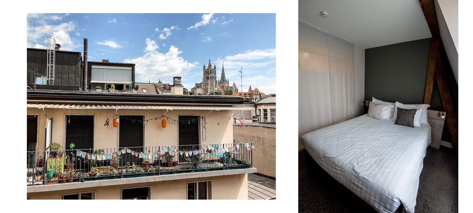 Suisse | Lausanne |hebergement | Mademoiselle-voyage | conseils