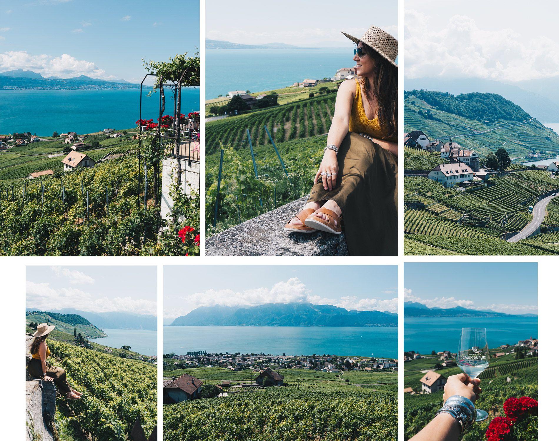 Suisse | Lausanne | Vignoble de lavaux | Mademoiselle-voyage | conseils