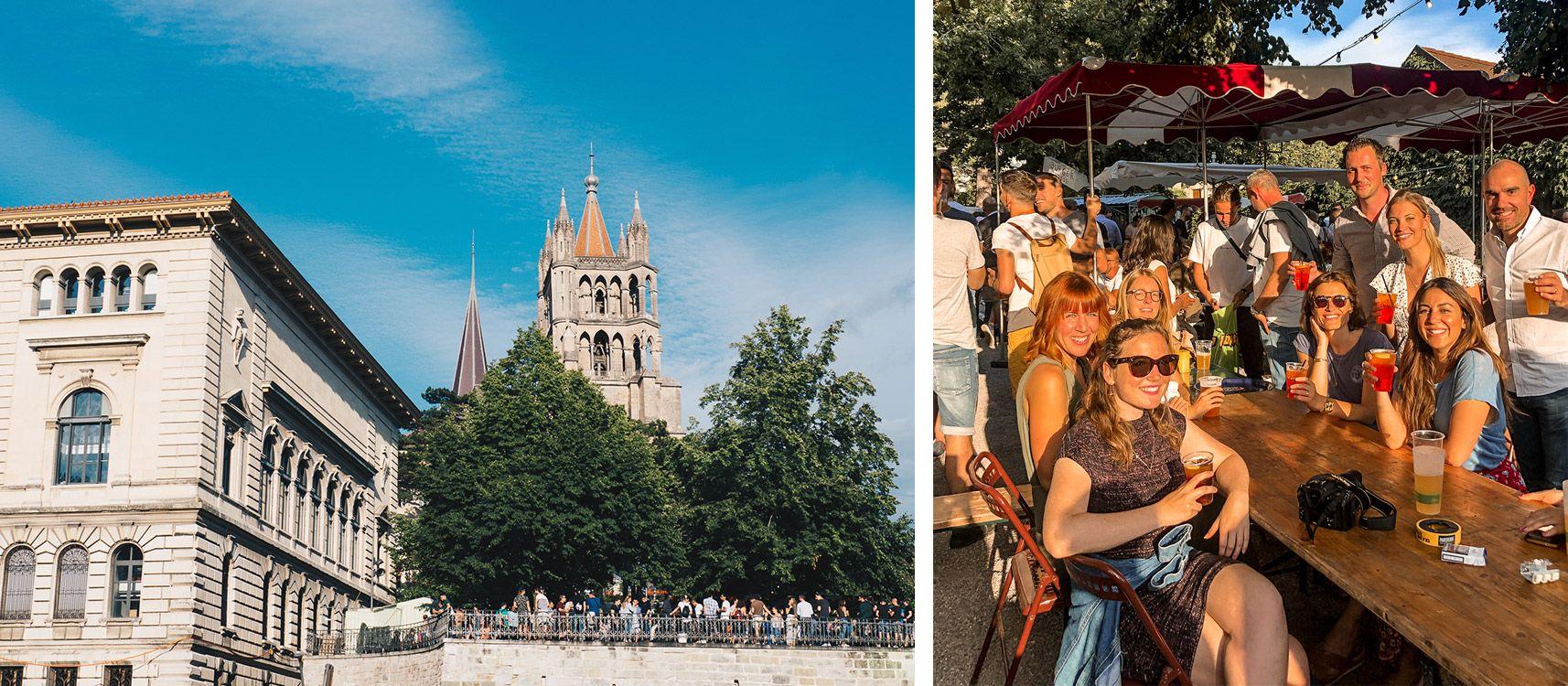 Suisse | Lausanne | Centre-ville | Mademoiselle-voyage | conseils