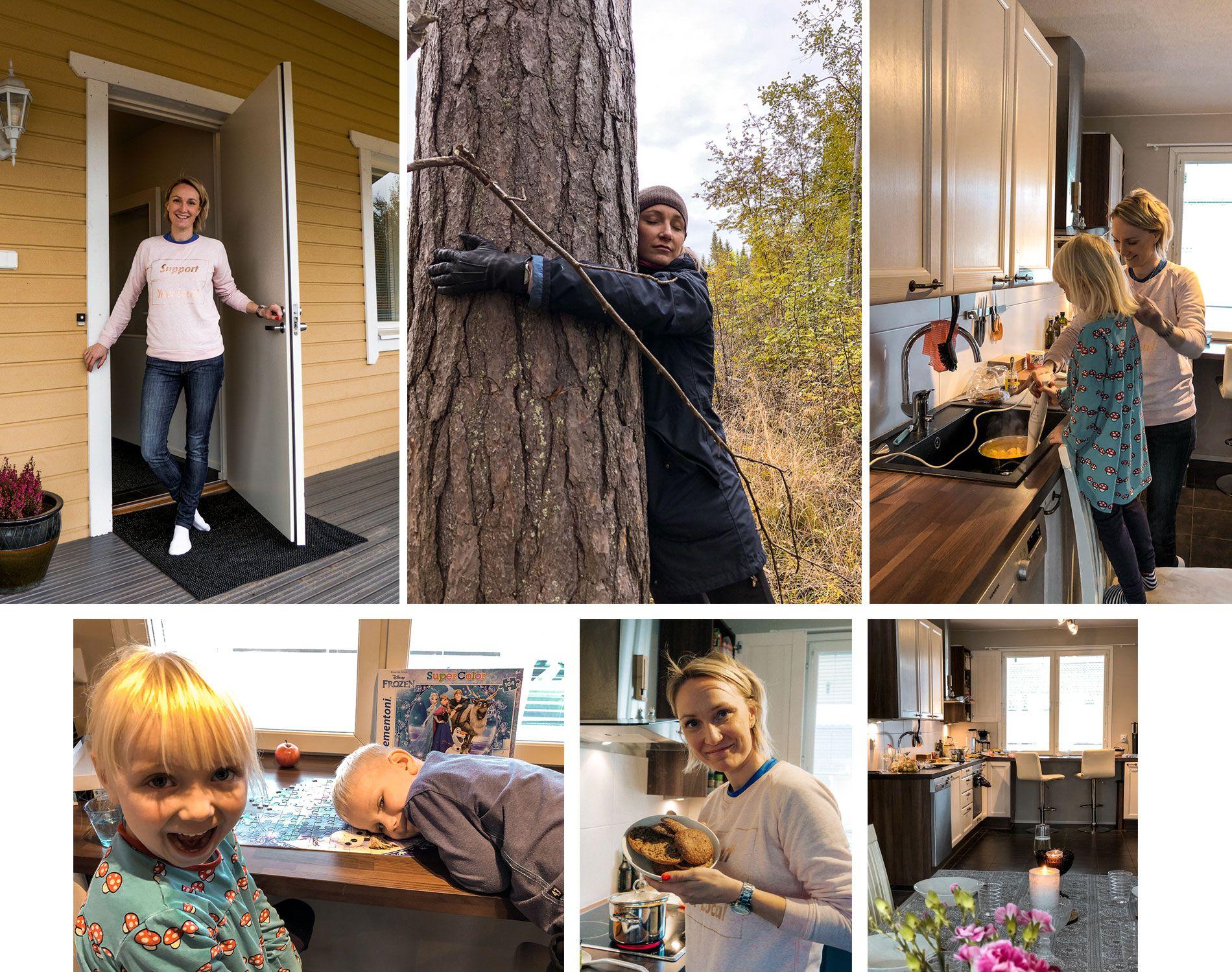 Finlande | région grands lacs | automne | chez l'habitant