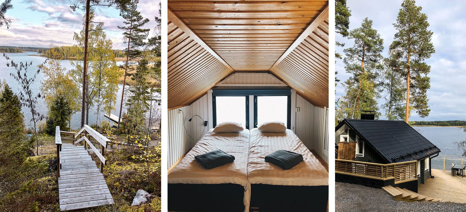 Construire Un Sauna Finlandais la finlande à l'automne   jyväskylä & lahti   région des