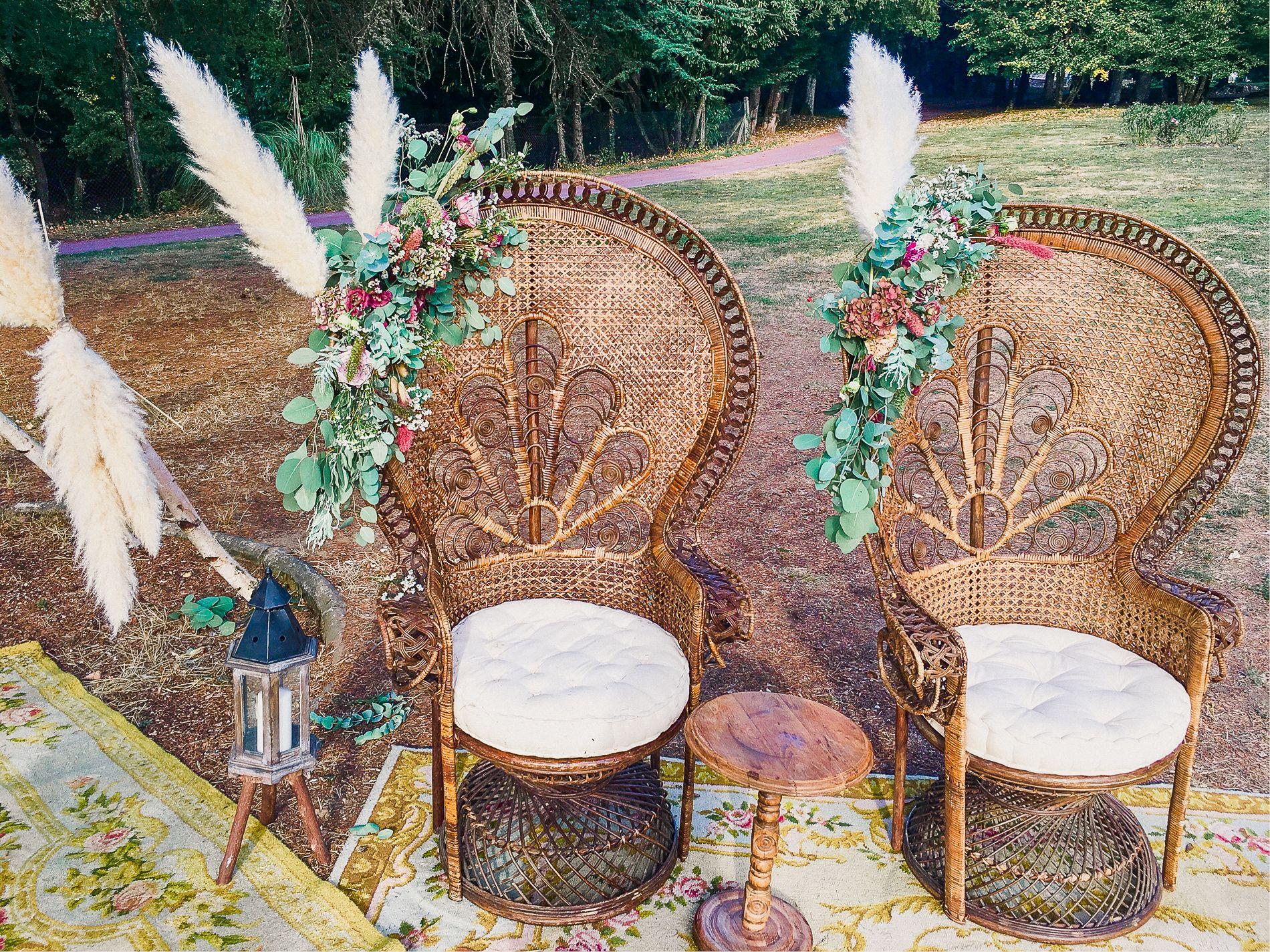 Comment Faire Un Centre De Table Avec Des Fleurs fleurs pour un mariage bohème rétro folk aux inspirations