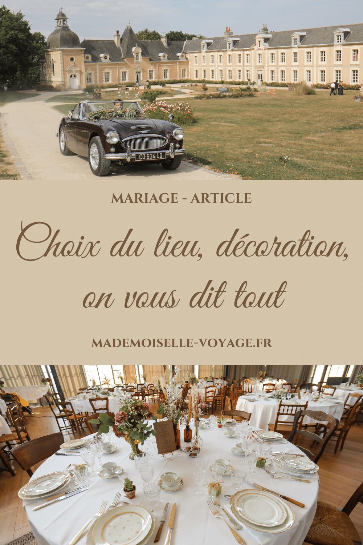 mariage | lieu | décoration | mademoiselle-voyage