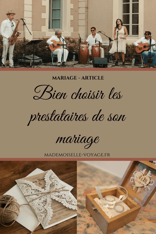 Mariage | conseil | prestataire | mademoiselle-voyage