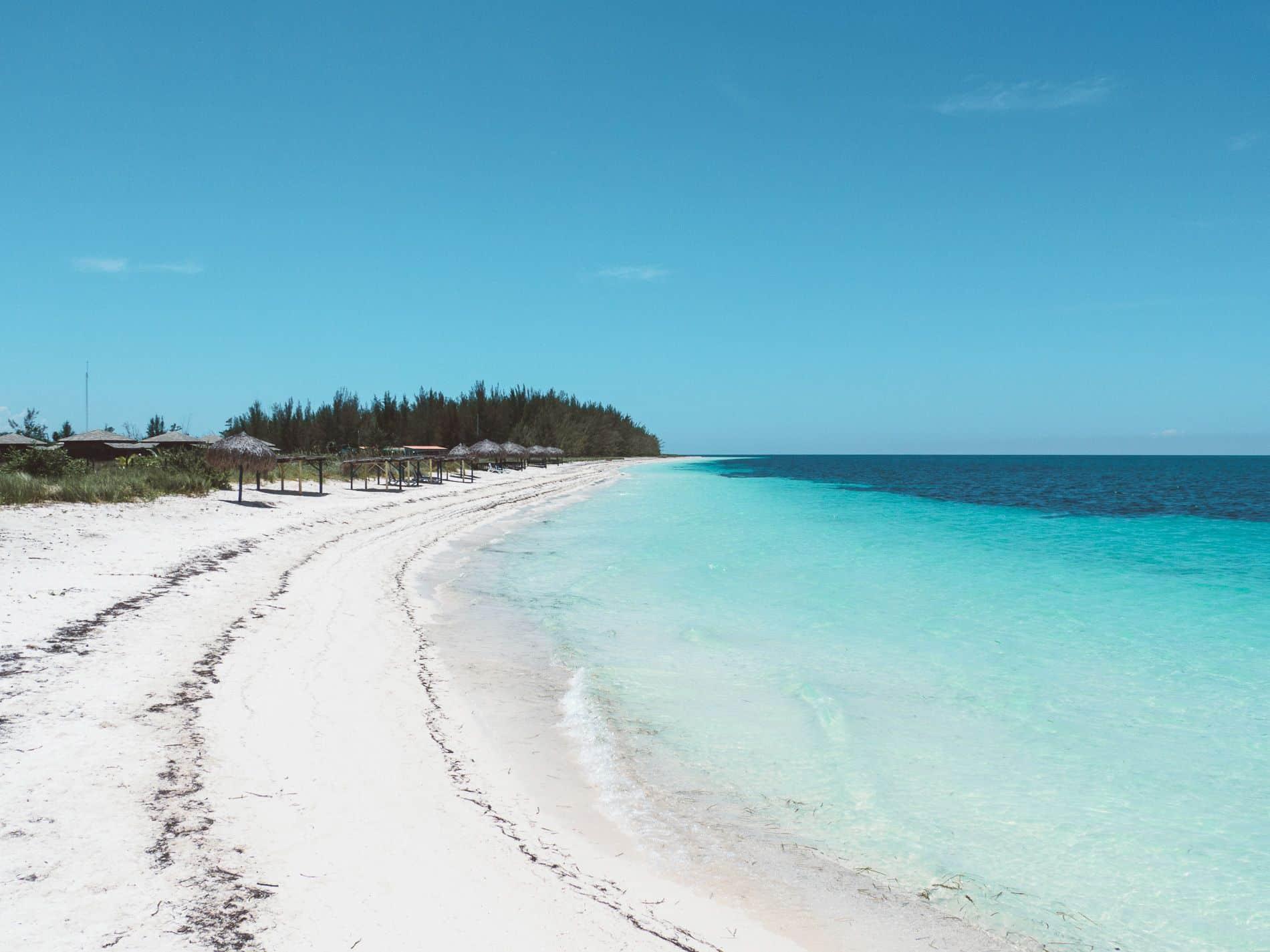 Cuba   cayo levissa   plage