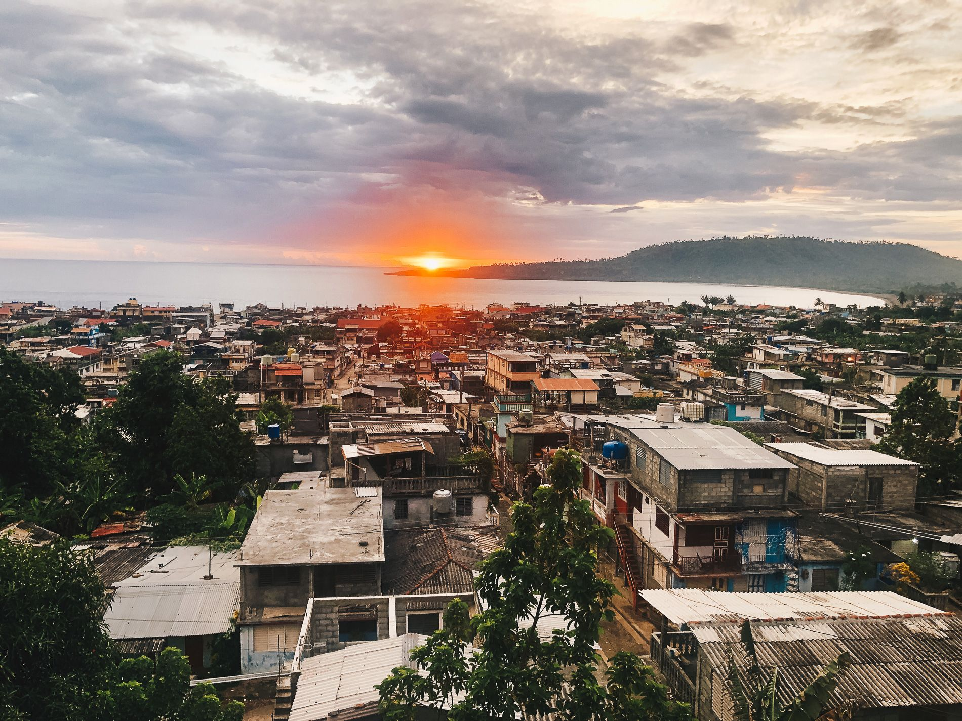 Cuba |Baracoa |Coucher de soleil