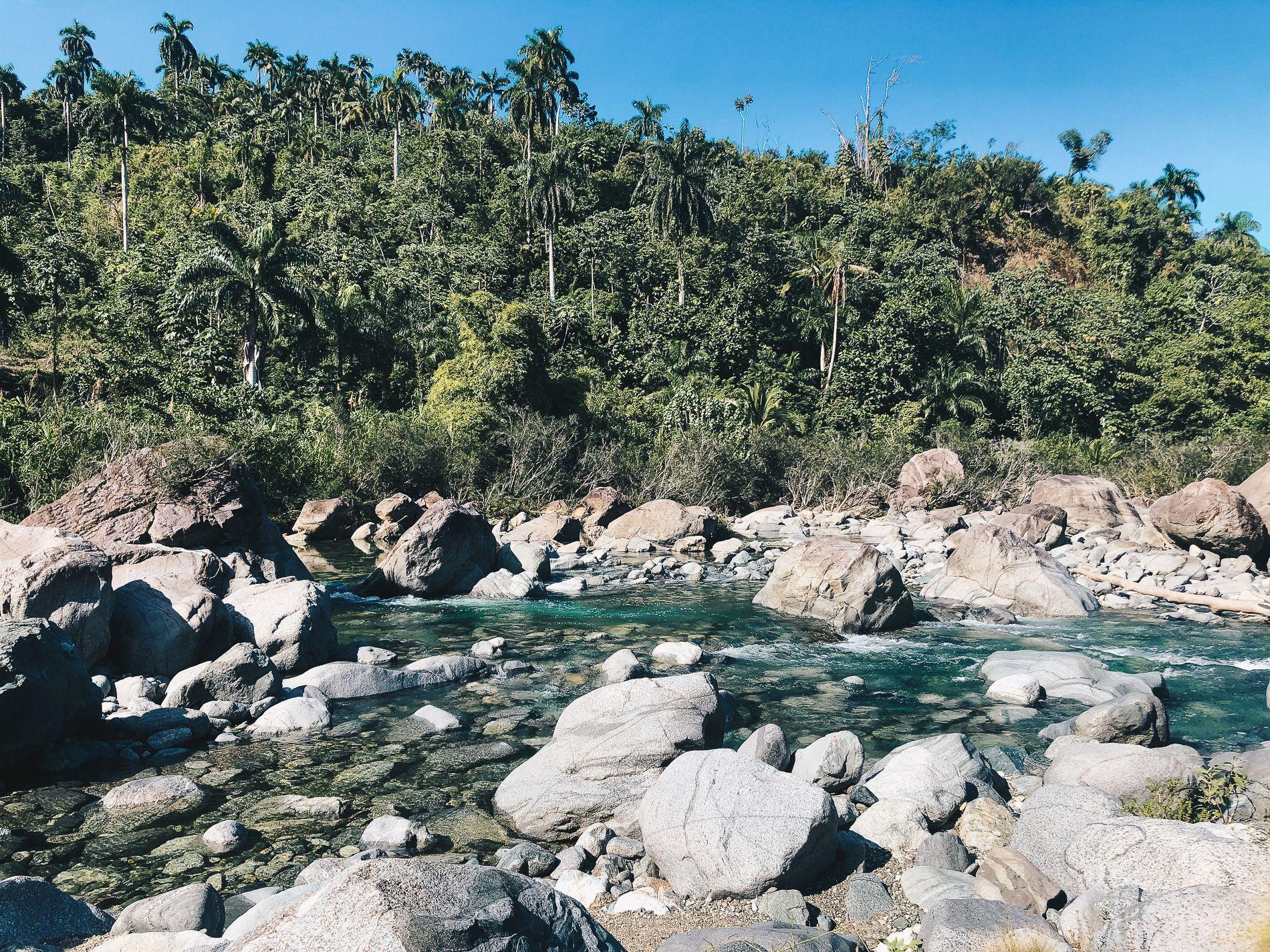 Cuba | Baracoa |cascade | se baigner