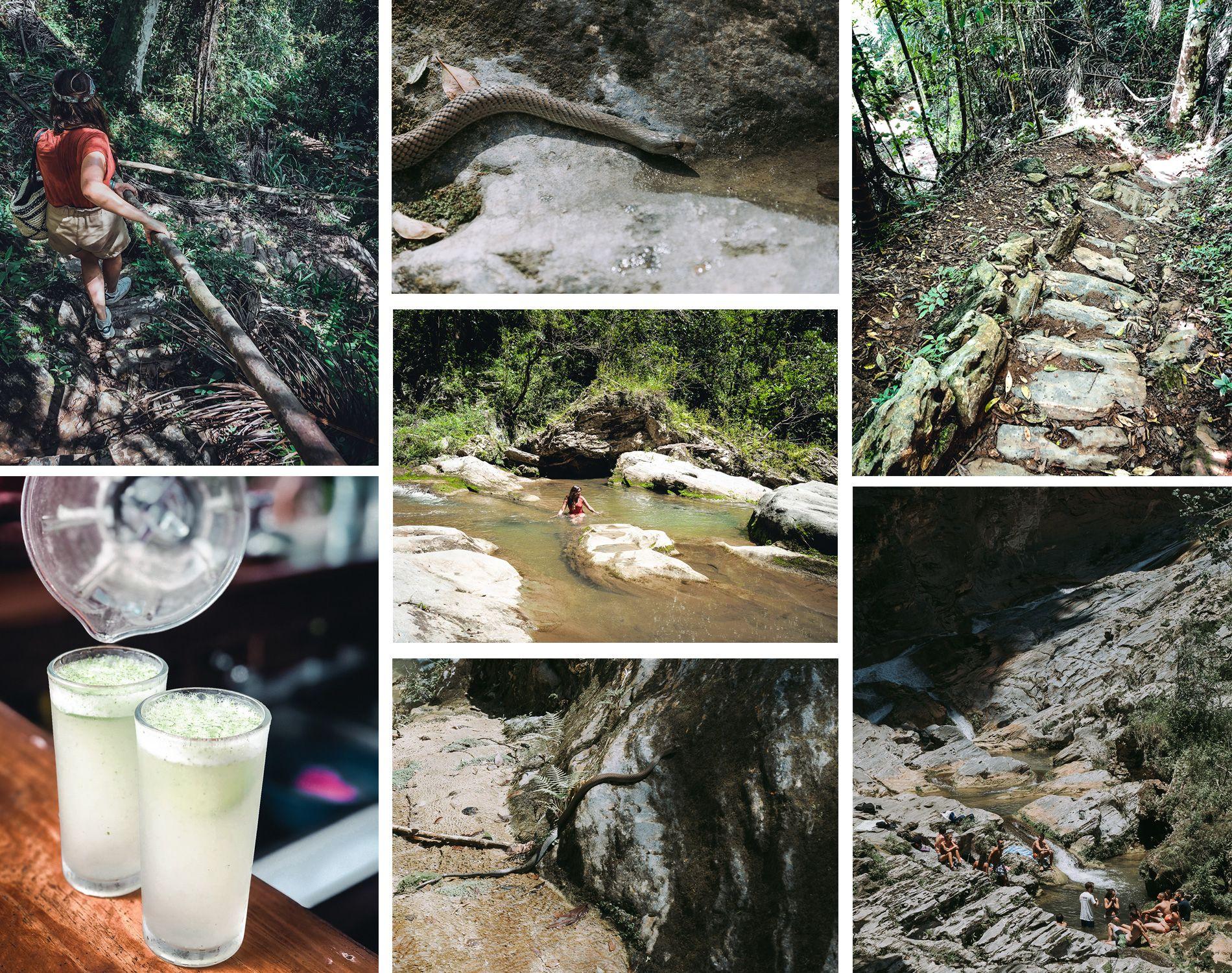 cuba | trinidad | parc topes de collantes | carte | cascades