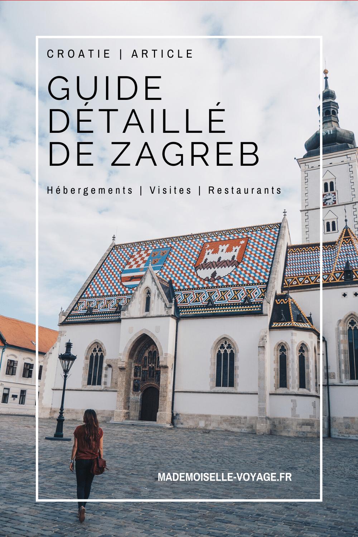 croatie | zagreb | guide | conseil | mademoiselle-voyage