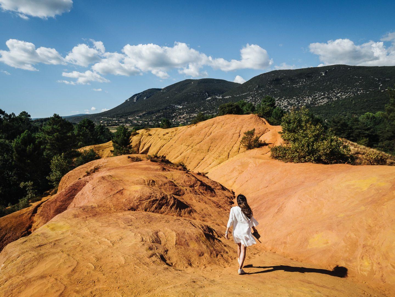 Partez à la découverte du Colorado Provençal