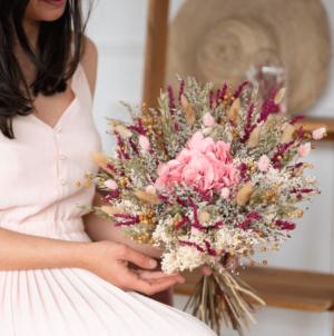 Bouquet fleurs séchées Flowrette Edgar